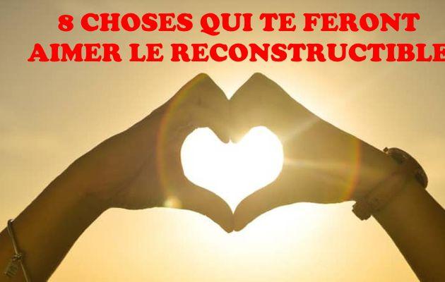 8 choses qui te feront aimer le reconstructible