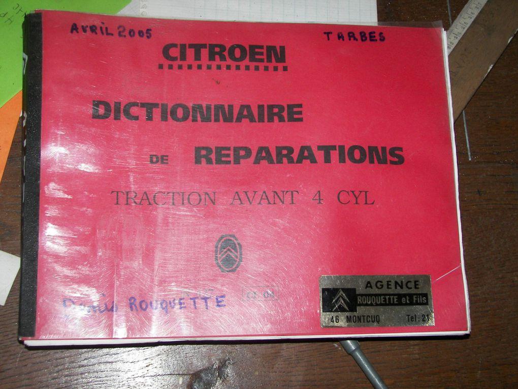 Album - DICTIONNAIRE DE REPARATIONS DISPONIBLE