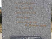 Cérémonies du 25 septembre 2019 au mémorial de Uzès, à Nîmes ,st Maurice, et Laudun L'Ardoise (30)