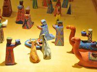 crèches du Bénin, Togo, Congo, Rwanda, Côte d'Ivoire, Tunisie, Kenya