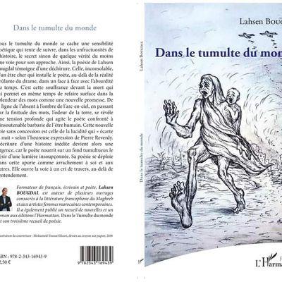 Dans le tumulte du monde, poésie, Paris, Harmattan, février 2019