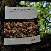 Le livre au bois des immortelles chez BlookUp - Autour de