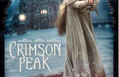 CRIMSON PEAK - Une histoire d'amour gothique par Guillermo Del Toro, avec Tom Hiddleston, Jessica Chastain, Mia Wasikowska et Charlie Hunnam. Au cinéma le 14 octobre 2015