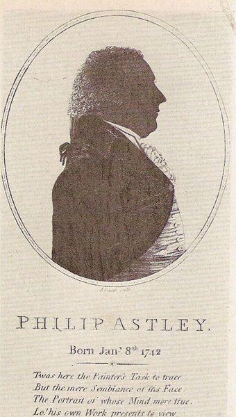 Philip Astley (1742-1814) le fondateur du cirque moderne