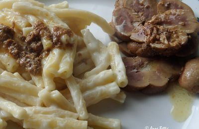 Rognon avec macaroni