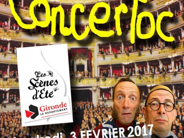 """Fred Lasnier """" Concertoc """" Mosaïques 10.2017"""