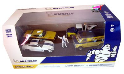 COFFRET MICHELIN GREENLIGHT 1/64.