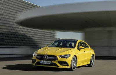 Mercedes CLA 35 AMG : La Sedan désirable