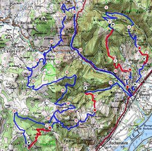 Un nouveau parcours, Une Randonnée en Ardèche