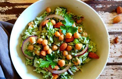 Salade de riz au brocoli