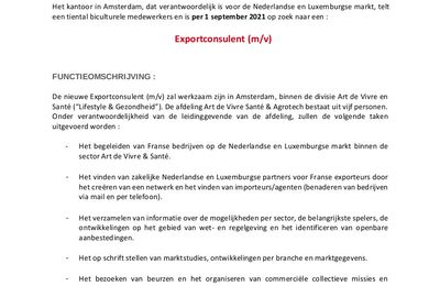Vacature in Amsterdam