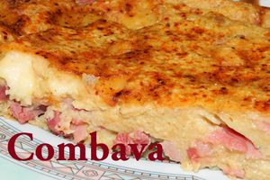 Pudding Jambon-Lardons-Emmental au Curry