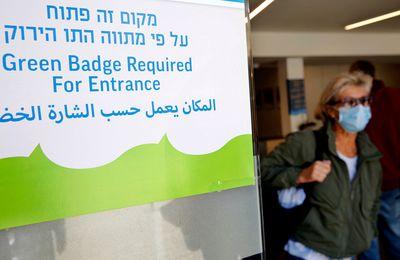 Israel publicará los nombres de los que no se han vacunado contra COVID-19