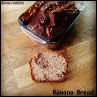 Banane bread ou cake à la banane trop mûre