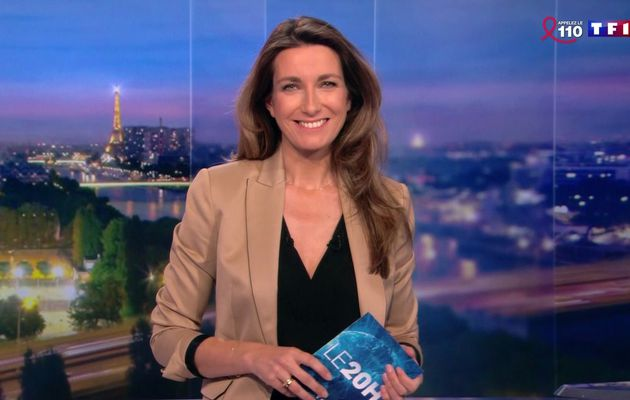 📸21 ANNE-CLAIRE COUDRAY @ACCoudray @TF1 @TF1LeJT pour LE 20H WEEK-END #vuesalatele