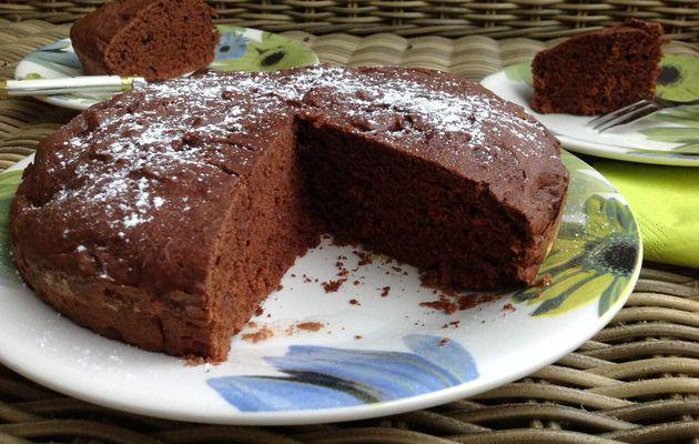 Gâteau au chocolat léger et protéiné