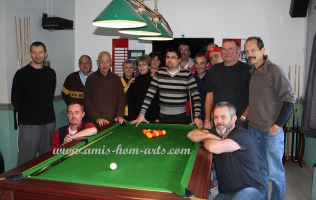 UN CLUB DE BILLARD 8 POOL... RENAÎT à BERCK..