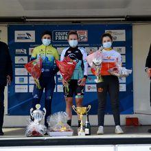 Les «Elles» ne volent pas leur victoire - Valentine Fortin (Team Femmes du Genevois) a remporté, ce dimanche, la 14e édition de la Classic Féminine Vienne-Nouvelle-Aquitaine, cinquième et dernière manche de la Coupe de France Femmes. Après 119,9 kilomètres de course autour de Loudun (86), elle a devancé Séverine Eraud (Charente-Maritime Women Cycling) et Margot Pompanon (St-Michel-Auber 93)....