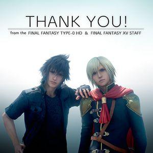 Plus d'un million de copies de Final Fantasy Type-0 HD dans le monde !