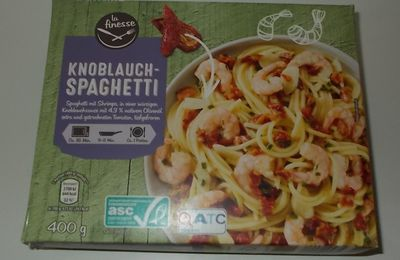 Aldi La Finesse Knoblauch-Spaghetti