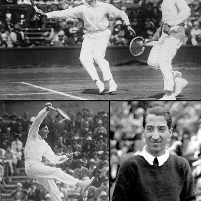 Les 4 Mousquetaires du tennis français
