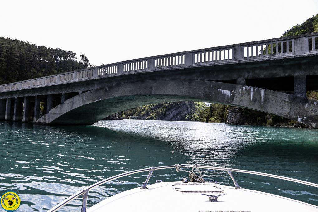 Promenade au lac de Castillon  avec Yves