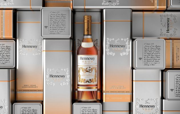 Packaging : Hennessy VSOP Privilège 200th Anniversary Limited-Edition