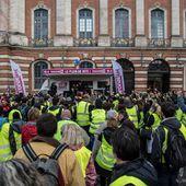 Un samedi à Toulouse, gilets jaunes et marché de Noël