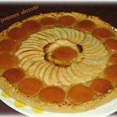 Tarte pommes abricots - Chez Vanda