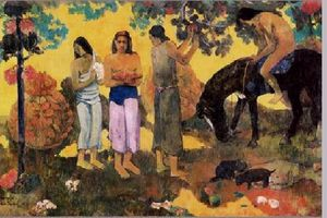 "PAUL GAUGUIN ""TEHURA"""