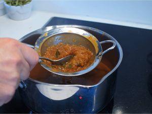 Echine de porc sauce charcutière