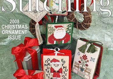 Livre de point de croix pour Noël gratuit à imprimer.