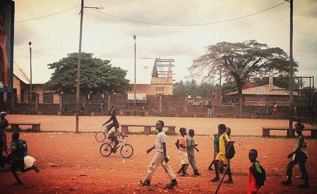 Centrafrique : le terrain mythique de l'école Koudoukou vers une réhabilitation