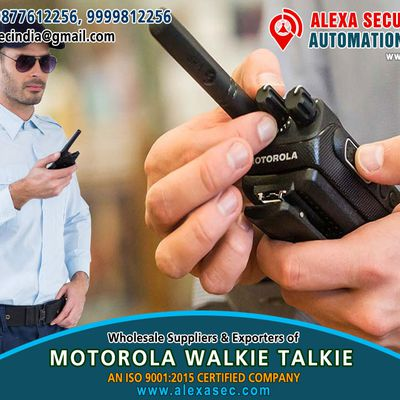 Walkie Talkie for Office Use suppliers dealers exporters distributors in Delhi, NCR, Noida, Punjab India +91-98776-12256 +91-99998-12256 http://www.alexasec.com