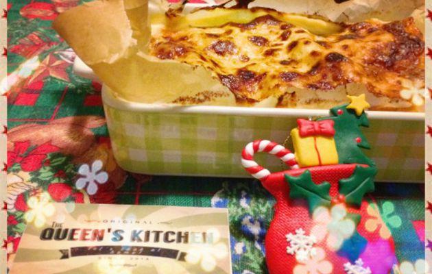 lasagne bianche con zucca speck e gorgonzola