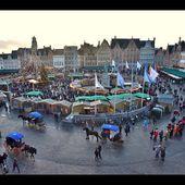 Un jour à Bruges, au marché de noël