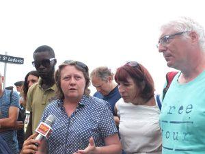 Samedi : solidarité aux migrants à la frontière