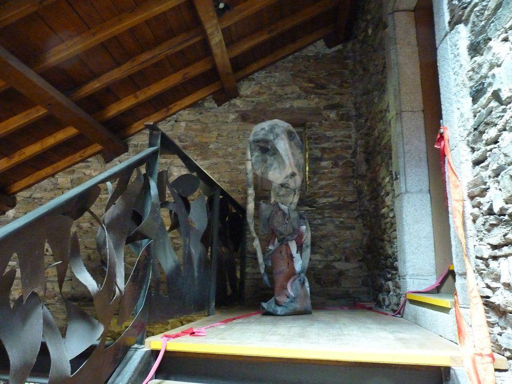 Lacaze l'expo de l'artiste Nadine Vergues