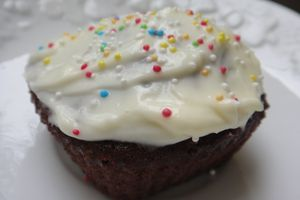 Cupcake velours de Jamie Oliver