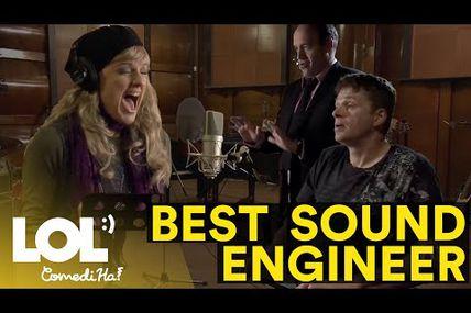 Le dur métier d'ingénieur du son