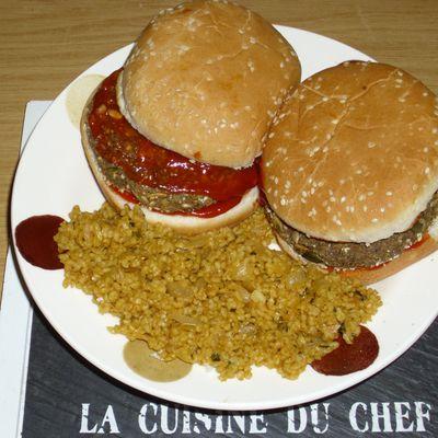 Burgers aux Herbes & Graines