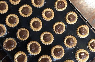 TARTELETTES CHOCOLAT CARAMEL SANS GLUTEN