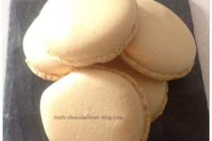 Coques macarons