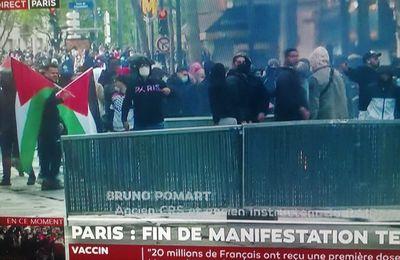 16-05-21-HONNEUR AUX COURAGEUX QUI ONT OSE MANIFESTER A PARIS  EN FAVEUR DES DES NOUVELLES VICTIMES DE L'ANTISEMITISME A JERUSALEM, A GAZA ....