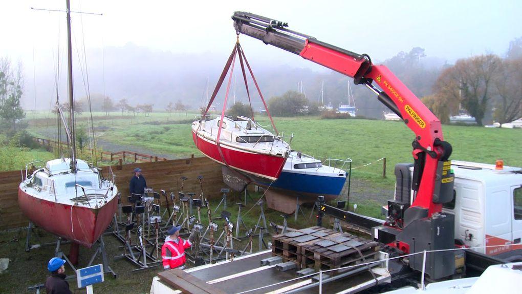 Campagne de recyclage des vieux bateaux dans les clubs nautiques !