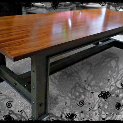 meubles décoration industrielle metallique