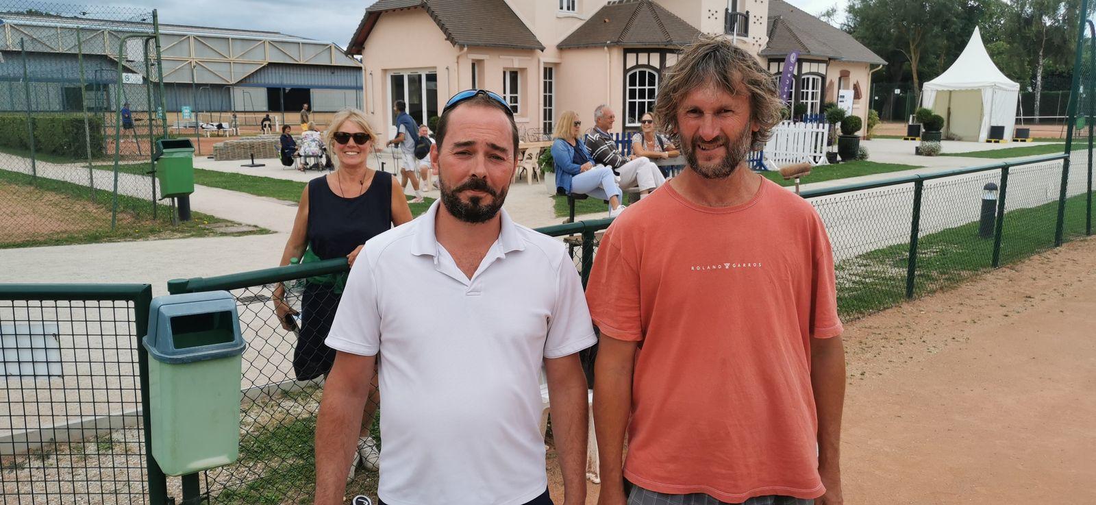 Marc Lesaffre 30/2 Tennis Evolutif du Tremblay gagne contre Nicolas Thommeret 30 Saint-Aubin