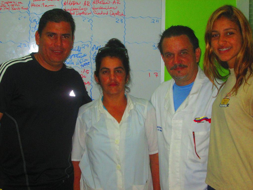 Reseña fotográfica durante las jornadas de chequeo médicos y cedulación