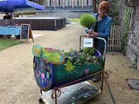 """Les CE 2 de l'école Saint-Corentin gagnent le concours  """" Le jardin nomade """""""