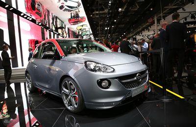 Opel Adam S : petite mais puissante